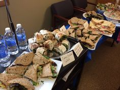 We cater business luncheons as well!