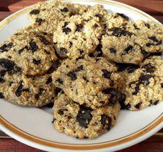 Egyszerű zabpelyhes keksz (tej-, és gluténmentesen is elkészíthető) – Éhezésmentes karcsúság Szafival Tej, Paleo, Gluten, Sugar, Healthy Recipes, Cookies, Foods, Diet