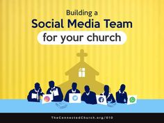 social media team for church and ministry