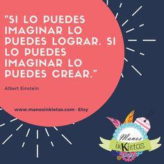 ¡Buenas tardes! ¡Sigamos imaginando! #inspiración #creatividad #imaginación #manualidades #artesanía #hechoamano #hechoamanoconamor #libertad #citascélebres #citas #frases #AlbertEinstein #Einstein #inspiration #inspirationalquotes #imagination #handcraft #crafts #craft #handmade #handmadelove #freedom #handmadewithlove #quotes