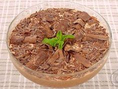 Estrogonofe de Chocolate   Doces e Sobremesas   Mais Você   Receitas.com