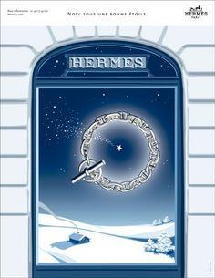 Hermès - campagne de publicité / ad campaign - Noël 2013 - Publicis & Nous - chaine d'ancre - by Dimitri Rybaltchenko