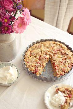 Extra ovocný rebarborovo-marhuľový koláčDottka | Dottka