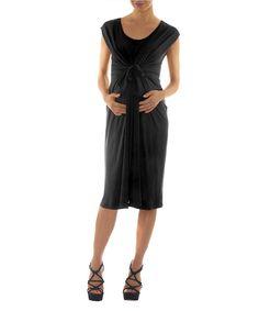 Vanessa Knox Black Ianthe Maternity Dress so pretty