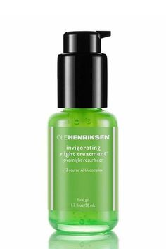 """How To Even Out Your Skin Tone Once & For All #refinery29  http://www.refinery29.com/best-dark-spot-corrector#slide-1  This lightweight night serum contains alpha hydroxy acid to gently exfoliate your skin while you sleep.Ole Henriksen Invigorating Night Treatment, $45, available at <a href=""""http://www.sephora.com/invigorating-night-treatment-P42330"""" rel=""""nofollow"""" targe..."""