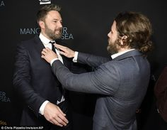 Ben and Casey Affleck at Manchester By The Sea premiere | Daily Mail Online
