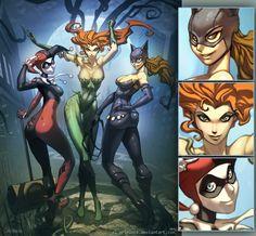 Sirens of Gotham by *el-grimlock on deviantART