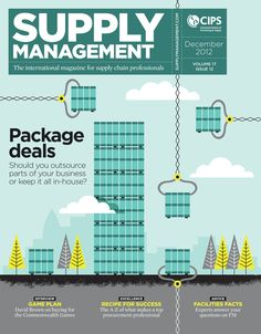 Cover feature and inside illustrations for Supply Management magazine Supply Management, Recipe For Success, Package Deal, Supply Chain, Behance, Facts, How To Plan, Business, Cover