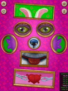 David Kirk, Face Art, Frame, Pattern, Pictures, Picture Frame, Photos, Patterns, Frames