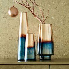 Ombre Mercury Vases | west elm                                                                                                                                                                                 More