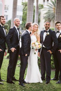 Photography: Jasmine Star - www.jasminestar.com  Read More: http://www.stylemepretty.com/2014/08/25/classic-miami-wedding-with-a-modern-twist/