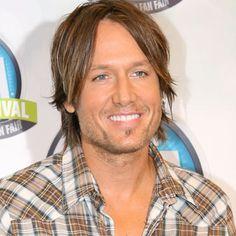 Keith Urban. :) Male Country Singers, Country Music, Brett Eldredge, Maren Morris, Rock Bottom, Keith Urban, Nicole Kidman, Celebrity Couples, Top Ten