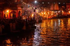 In Haridwar, Hindus come to the banks of the holy Ganges daily to perform aarti rituals with song, flames, and prayer.