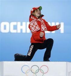 (AP Photo/David J. Phillip ) ▼16Feb AP|Domracheva eyes 3rd straight Olympic biathlon gold http://wintergames.ap.org/article/domracheva-eyes-3rd-straight-olympic-biathlon-gold #sochi2014 #biathlon #Domracheva #Belarus