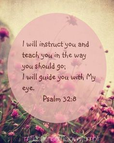 I love that He guides us!