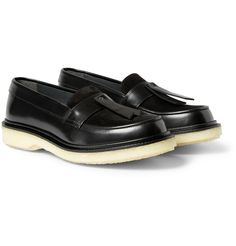 Adieu - Type 32 Crepe-Sole Leather Loafers MR PORTER