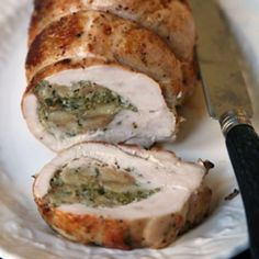 Stuffed Turkey Breast Recipe | SAVEUR