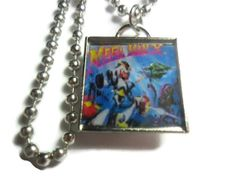 Mega Man X pendant on a18 inch ball chain FREE by ReturnersHideout, $16.00