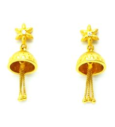 Have A Look  www.stores.ebay.in/shreejewel  New Gold Earrings/Drops/Jhumkas Fancy 22ct 22k (916 Pure) Bis Hallmarked Female