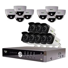 Revo Aero Channel HD Surveillance DVR with Indoor and Outdoor Cameras is essential to any business or home security system. Video Surveillance Cameras, Surveillance Equipment, Security Surveillance, Surveillance System, Video Security System, Home Security Systems, Outdoor Camera, 1. Tag
