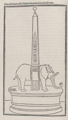 Hypnerotomachia Poliphili   Echoes of Egypt   Yale Peabody Museum