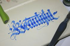 https://www.behance.net/gallery/22488013/Calligraphy-set-2014 #typography #graphicdesign #lettering #calligraphy