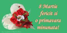 8 Martie Fericit!