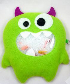 LAST ONE - Green Monster I Spy Bag - Large via Etsy