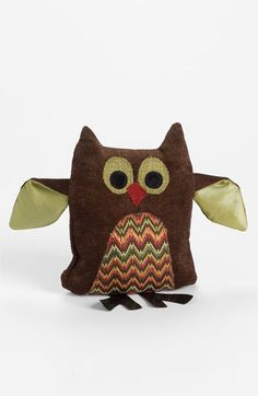 Woof & Poof Chevron Pattern Owl available at #Nordstrom
