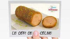 Rouleaux de foie gras au pain d'épices - Cuit à la vapeur