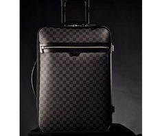 Black Louis Vuitton Suitcase