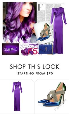 """""""FSJ  shoes 9"""" by difen ❤ liked on Polyvore featuring Nicki Minaj, Dsquared2, Yves Saint Laurent and fsjshoes"""