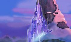 frozen castle template - Google-søk