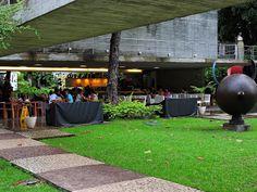 Conheça o Palacete das artes em Salvador. Um oásis de arte e gastronomia. café solar da graça.
