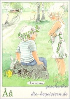 Postkarte Majas Alphabet [Åå]