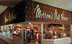 Morrow's Nut House in Lloyd Center. Dad would take us to Lloyd Center to look at the Christmas decorations…and get a caramel apple from Morrows. State Of Oregon, Oregon City, Our Town, Shopping Malls, Good Ole, Googie, The Good Old Days, Portland Oregon, Old Things