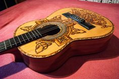 Alvaro Celtic Cross guitar made by Psujek Arts
