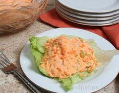 Orange Jell-O® Vegetable Salad Recipe from RecipeTips.com!
