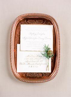 Wedding Invitations Photography: Heather Waraksa   heatherwaraksa.com Stationery And Calligraphy: I DO INVITATIONS By Sue Coe Designs   www.idoinvitations.com/   View more: http://stylemepretty.com/vault/gallery/38718