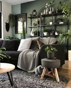Bohemain Home Decor Ideas and Furniture Styles Here is one of the best idea for you to be the only boho style house owner. The room has been colored g Boho Living Room, Home And Living, Living Room Decor, Bedroom Decor, Bedroom Ideas, Bohemian Living, Modern Living, Living Rooms, Furniture Styles