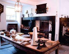 Georgian House kitchen, Charlotte Square, Edinburgh.