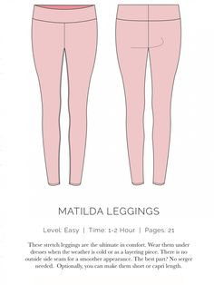 free leggings pattern
