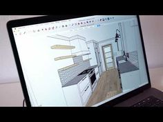 SketchUp courses online and in-person made just for interior designers. Interior Design And Technology, Interior Design Courses Online, Interior Design Institute, Interior Design Sketches, Interior Design Website, Kerala, Art Deco Kitchen, Interior Design Living Room, Interior Livingroom