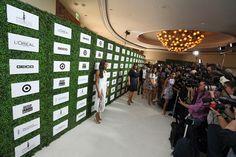 hedge sponsor wall: essence black women in hollywood pre-oscars awards luncheon