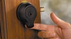 Biometric Home Security - entry via fingerprint scan. A keyless society(fingerprint scanning).. Nerdy things.