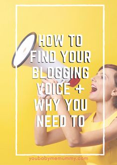 Do you struggle to connect with your audience? Want a loyal community? How to find your blogging voice and why you need to