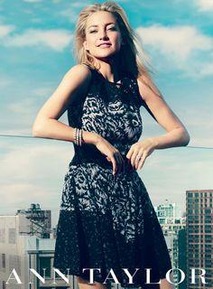 Kate Hudson for Ann Taylor Spring 2013