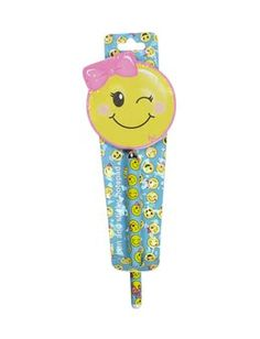 Smiley Face Emoji Pen and Sticky Notepad