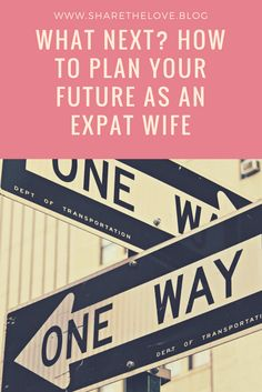 I am a 30 something Expat Wife. On my blog I tell you about my struggle. Plan your next step wisely! Visit www.sharethelove.blog for inspiration, advice and my honest view on being an Expat Wife