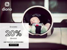 Épargnez 20% sur tous les accessoires de Diono chez Bébé Dépôt Plus! Bassinet, Baby Car Seats, Children, Furniture, Home Decor, Accessories, Bebe, Young Children, Crib